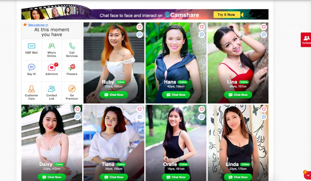 AsianBeautyOnline women profiles