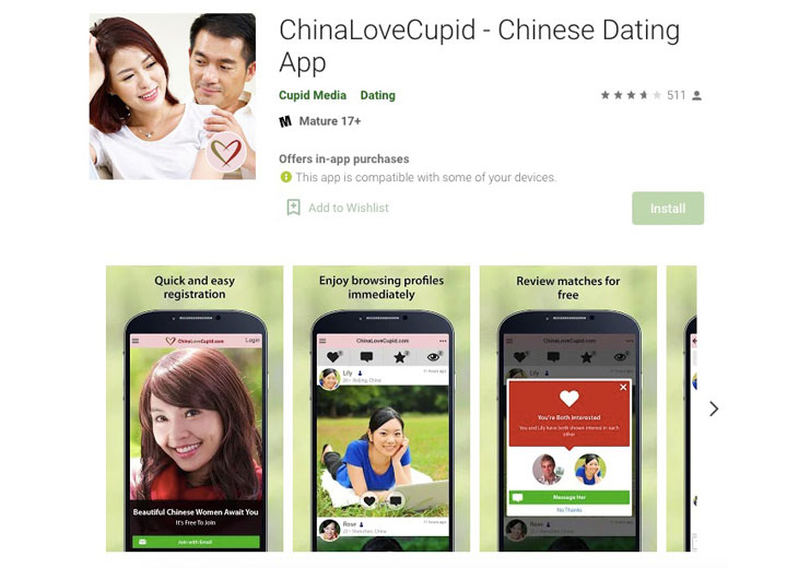 ChinaLoveCupid app