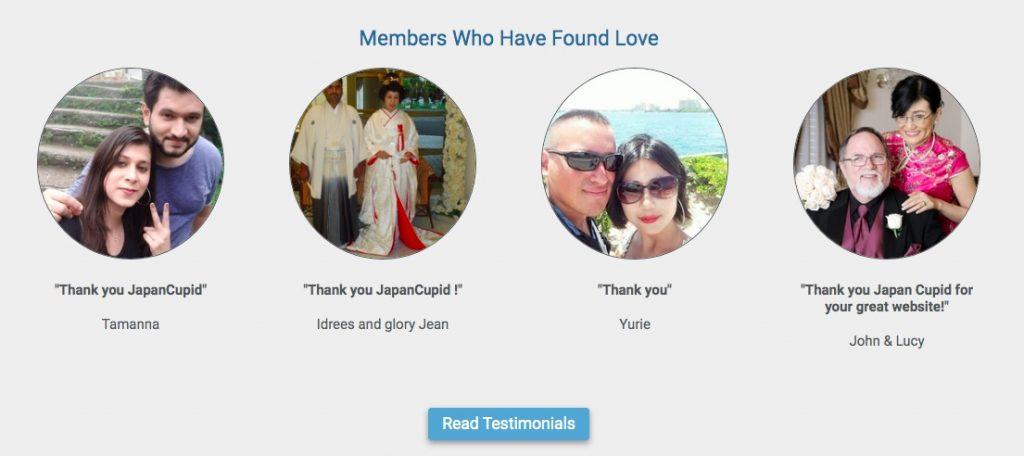 JapanCupid members who found love