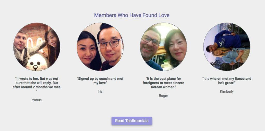 KoreanCupid testimonials