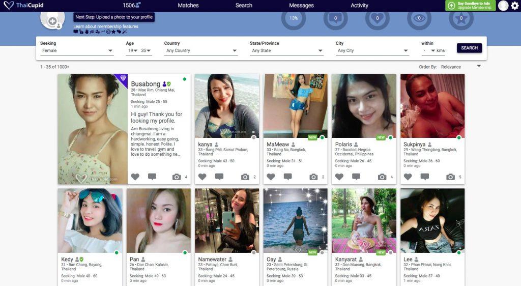 ThaiCupid members profiles