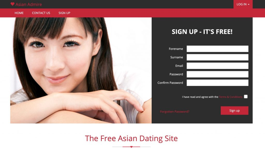 AsianAdmire main page